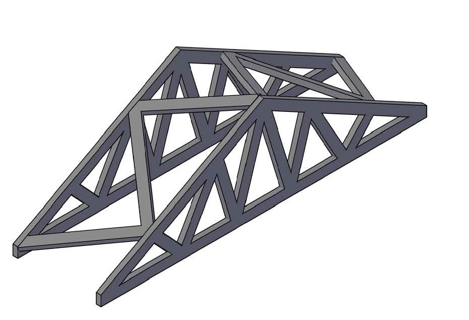 wood truss welcome to maxs infoprojects page