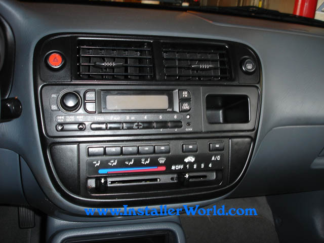 96 98 honda civic radio removal publicscrutiny Choice Image