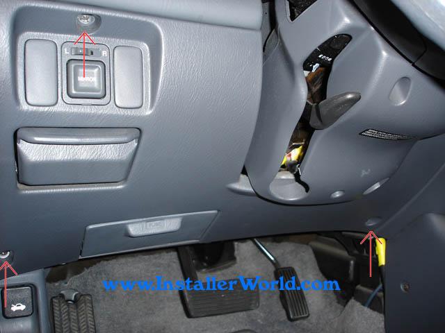 9900 Honda Civic Radio Removalrhinstallerworld: 2000 Honda Civic Radio Bezel Parts At Gmaili.net
